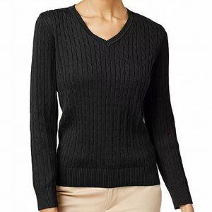 NWT Karen Scott Women's Sweater Black Size: Small